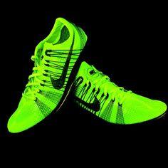 Nike Matumbo 2 Flywire Distance Track Running Spikes Mens Size 11.5 Volt #Nike #LightweightDistanceTrackRunningSpikes