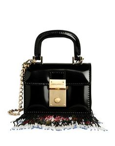1483a87cab DSQUARED2 Small Leather Bag