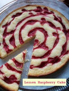 Recipe: Lemon Raspberry Cake Ingredients For the cake 1 1/2...