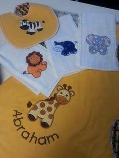 Noah's Ark Applique Machine Embroidery Designs   Designs by JuJu
