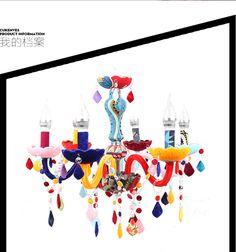 Европейский светодиодный кристалл свечи люстра гостиной ресторана спальня экзотическое смешивать и сочетать цвета ткани цвета столкновения мозаики лампы свободная перевозка груза - Taobao