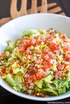 Healthy Side Salad Recipes is One Of Beloved Salad Recipes Of Several Persons Across the World. Besides Easy to Make and Excellent Taste, This Healthy Side Salad Recipes Also Healthy Indeed. Lettuce Salad Recipes, Side Salad Recipes, Salad Recipes For Dinner, Dinner Salads, Chicken Salad Recipes, Dinner Dishes, Healthy Salad Recipes, Healthy Meals, Chopped Salad Recipes