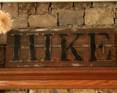 Rustic DREAM sign on reclaimed barn wood with hand painted letters, distressed and antiqued to evoke a sense of age and history. Because we create our home decor from locally acquired barn wood, all items are unique and handmade upon order. The item pictured is a sample of the completed product. The final product will have the same design and color as pictured, but the wood will vary slightly in appearance and weight. The natural aged character of the reclaimed barn wood cannot be…