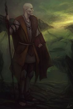 Solas - Dragon Age: Inquisition, He is an amazing character, I love how in depth he is. Also, he is a fantastic nerd and I could listen to his stories all day.