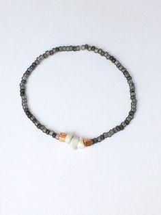 Armbänder - Armband mit Edelsteinsplittern - ein Designerstück von von-Ela bei DaWanda