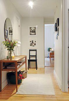 hallway decor idea