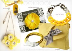 Yellow Accessories On Summer