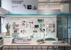 Creative Office Design Idea Wall