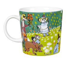 Moomin Mug Tove Jubilee Arabia Moomin Mugs, Tove Jansson, Royal Design, Scandinavian Living, Nordic Design, Marimekko, Online Shopping Stores, Finland, Thrifting
