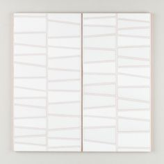 Sakura - River Rock White Motif   River Rock's geometric lines and natural colorways offer subtle graphic appeal, perfect for feature walls and floor installations.   $35/Piece   6x12 size