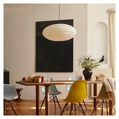 Buy the Akari Pendant Light by Isamu Noguchi and more online today at The Conran Shop, the home of classic and contemporary design Isamu Noguchi, Noguchi Lamp, Home Design, Design Blog, Chaise Vintage, Eames Chairs, Panton Chair, Living Room Lighting, Mid Century Design