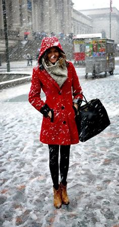 The original picture that got me into winter coats and fashion <3
