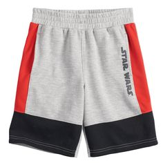 He'll be geared up in Jumping Beans Star Wars fashion with these boys' shorts. Mens Jogger Pants, Men Trousers, Short Shirts, Boys Shirts, Hang Ten, Streetwear Shorts, Comic Clothes, Terry Long, Mens Cotton Shorts