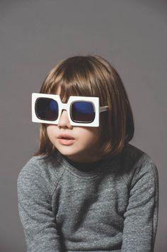 5e8c814caa3 Cute Kids Front New Karen Walker Eyewear Advertising Campaign