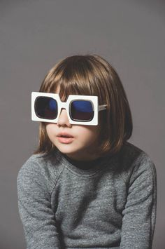 Cute Kids Front New Karen Walker Eyewear Advertising Campaign