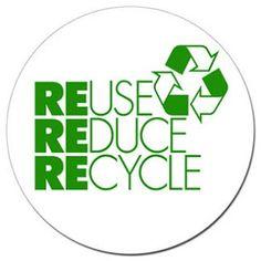 Reuse, reduce, recycle ! / Réutiliser, réduire, recycler !