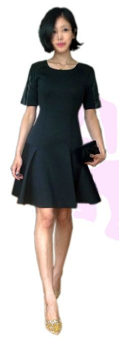 Johnathan Simkhai neoprene dress and Rene Caovilla lace pumps, YSL bowtie clutch
