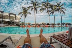"""""""My view last Monday not my view today""""   """"Mi vista el lunes pasado no hoy."""" #repost  @Sublimef8 #uvcmembers #fanfriday #NowAmber #NowResorts #UnlimitedVacationClub #relax #palmtrees #vacations #summer2018 Now Amber Puerto Vallarta, Vacation Club, Pacific Blue, Night Life, Relax, Swimming, Instagram, Beach, Outdoor Decor"""