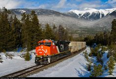 RailPictures.Net Photo: CN 2897 Canadian National Railway GE ES44AC at Valemount, British Columbia, Canada by Tim Stevens