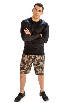 #Jazz #Up #Gym #Wardrobe with #Camo #Shorts from the #Online #Store, #Alanic
