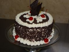 black forrest cake from swiss country house restaurant
