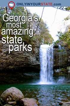 10 Amazing State Parks In Georgia That Will Knock Your Socks Off Hiking In Georgia, Georgia State Parks, New Orleans, New York, Places To Travel, Places To See, Travel Destinations, Blue Ridge Georgia, Las Vegas