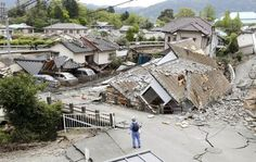 Twin earthquakes kill 32 people in Japan, scores trapped in rubble - http://conservativeread.com/twin-earthquakes-kill-32-people-in-japan-scores-trapped-in-rubble/