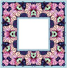 ArtbyJean - Paper Crafts: ---FRAMES - Square Scrapbook Frames, Paper Mache, Digital Scrapbooking, Decoupage, Card Making, Stationery, Paper Crafts, Clip Art, Prints