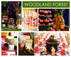 Woodland party theme by larla