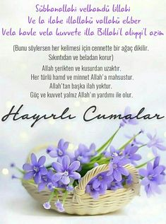Messages Fridays friday a good Friday a good Friday # Cumamesaj of the Friday Messages, Allah Islam, Good Friday, Islamic Quotes, Ramadan, Quran, Diy And Crafts, Place Card Holders, Pasta