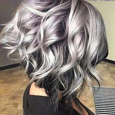 Beyaz Saç Modası