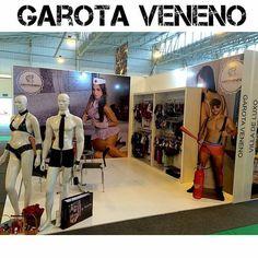 Stand Garota Veneno - Fantasia Erótica www.garotaveneno.com.br