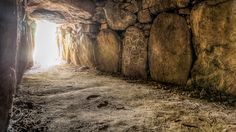 """Inside Dolmen de Mané-Kerioned with labyrinthic patterns Go to http://iBoatCity.com and use code PINTEREST for free shipping on your first order! (Lower 48 USA Only). Sign up for our email newsletter to get your free guide: """"Boat Buyer's Guide for Beginners."""""""