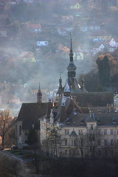 Sighisoara | view on black | Dinu Dragomirescu | Flickr