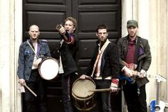 Coldplay. http://free-extras.com/images/coldplay_band-4628.htm