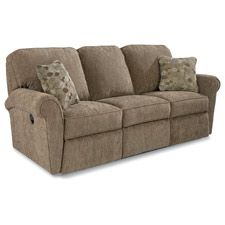 Jenna La Z Time Full Reclining Sofa In Burgundy Red