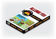 Allume feu   32 Cubes Naturel Barbecue – Cheminée Bois compressé Sans odeur et pétrole Longue durée