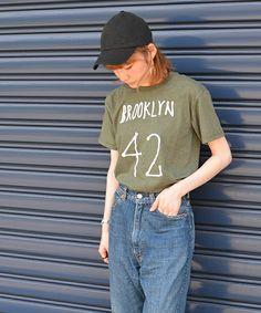 【ZOZOTOWN】liflattie ships(リフラティ シップス)のTシャツ/カットソー「General mean T-SHIRT(ジェネラル ミーン Tシャツ):プリント Tシャツ」(332-32-0072)をセール価格で購入できます。