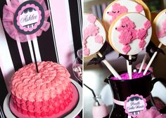 such a cute cake and poodle cookies! Ashlee Rae