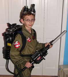 Kid's Ghostbuster Costume!!!