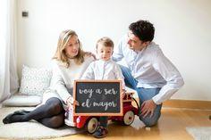anuncio segundo embarazo - hermano mayor - pregnant