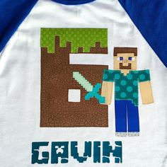 Hope You Dig Your Birthday Shirt Gavin Do Minecrafters Even