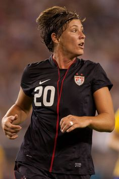 USWNT - Abby Wambach! i will not die before i meet her!