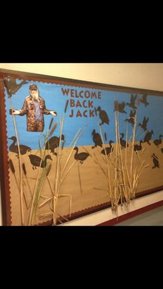 "The best ""Welcome Back"" bulletin board!!"
