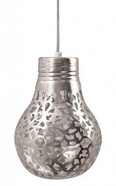spray paint through lace onto light bulb