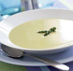 CREAMY ASPARAGUS SOUP *Saucepan.    http://www.finecooking.com/recipes/creamy-asparagus-soup.aspx