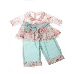 Blusa plisada con estampado de rosas