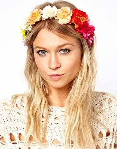 Limited Edition Festival Flower Headband