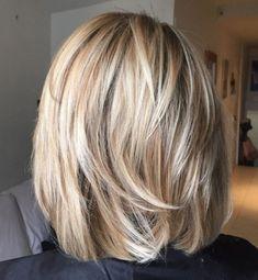 Bob Hairstyles For Fine Hair, Hairstyles Haircuts, Medium Hair Styles, Short Hair Styles, Great Hair, Short Hair Cuts, Hair Trends, New Hair, Hair Makeup