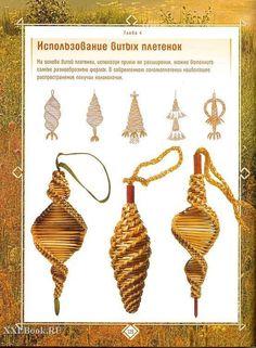 Bildergebnis für Weidenkorb-Kräuterspirale - Basket and Crate Straw Weaving, Paper Weaving, Weaving Art, Basket Weaving, Newspaper Basket, Newspaper Crafts, Christmas Baskets, Christmas Crafts, Christmas Ornaments